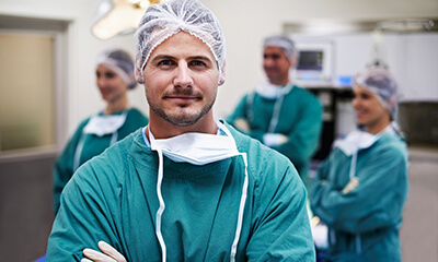 specialty-trained orthopedic surgeons