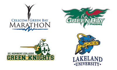 Cellcom green bay marathon, UWGB, St. Norbert college, Lakeland university
