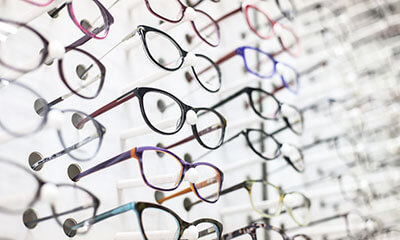 See our selection of designer frames and virtually try them on.